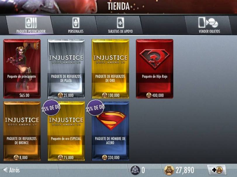 man of steel pack