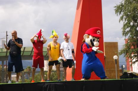 Mario ha practicado Dance Central últimamente