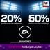 Si lo tuyo no son los juegos ñoños, los títulos de EA sports tienen hasta 50% de descuento.